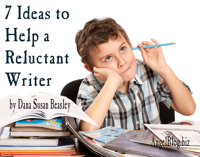 7 Ideas to Help a Reluctant Writer