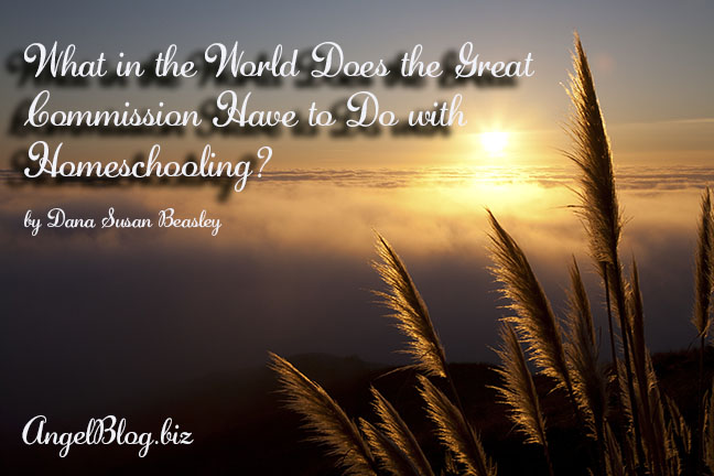 What in the World Does the Great Commission Have to Do with Homeschooling?